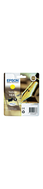 Epson DURABrite Ultra 16XL Ink Cartridge - Yellow