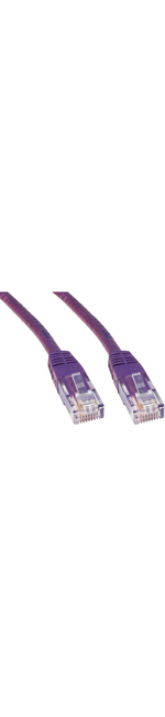 Cables Direct 25cm Cat 6 Cable  - Violet