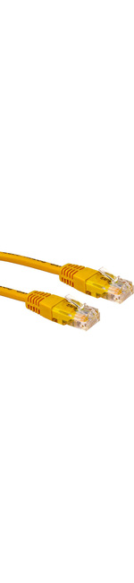 Cables Direct Cat 5e Network Cable - 6m - Yellow
