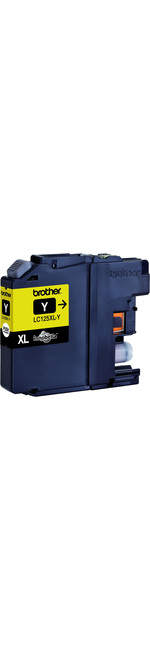Brother Innobella LC125XLY Ink Cartridge - Yellow - Inkjet - Super High Yield - 1200 Page