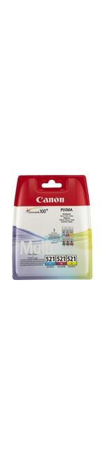 Canon CLI-521 Ink Cartridge - Cyan, Magenta, Yellow