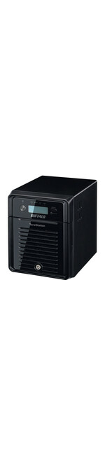 Buffalo TeraStation TS3400D0804 4 x Total Bays NAS Server - Desktop - ARM Dual-core 2 Core 1.33 GHz - 8 TB HDD 4 x 2 TB - 1 GB RAM DDR3 SDRAM - Serial ATA/300 -