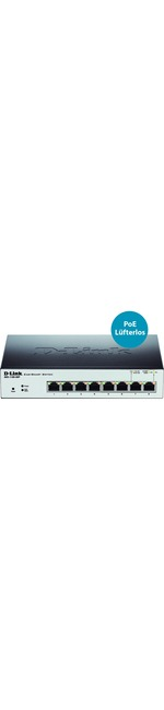 D-Link EasySmart DGS-1100-08P 8 Ports Manageable Ethernet Switch
