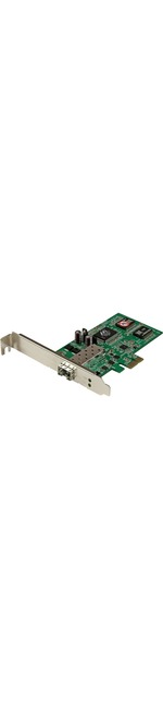 StarTech.com PCI Express Gigabit Ethernet Fiber Network Card w/ Open SFP - PCIe SFP Network Card Adapter NIC - PCI Express x1 - 1 Ports