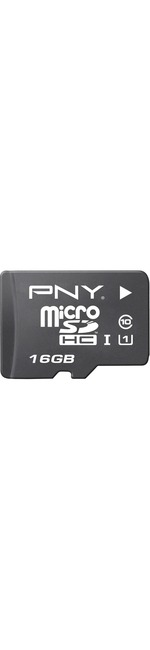 PNY Elite Performance 16 GB microSDHC - 100 MB/s Read - 30 MB/s Write - 1 Card