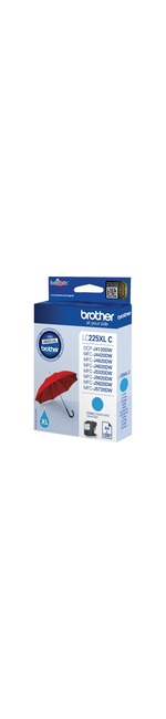 Brother LC-225XLC Ink Cartridge - Cyan