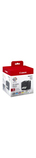 Canon PGI-2500XL C/M/Y/BK Ink Cartridge - Yellow, Cyan, Magenta, Black