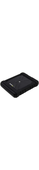 StarTech.com Rugged Hard Drive Enclosure - USB 3.0 to 2.5in SATA 6Gbps HDD or SSD - UASP
