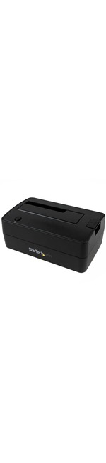 StarTech.com USB 3.1 10Gbps Single-Bay Dock for 2.5And#34;/3.5And#34; SATA SSD/HDDs with UASP - 1 x Total Bay