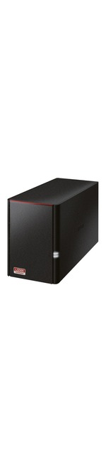 Buffalo LinkStation LS520D 2 x Total Bays NAS Server - Desktop - Dual-core 2 Core 1.10 GHz - 8 TB HDD - 256 MB RAM DDR3 SDRAM - Serial ATA/300 - RAID Supported 0,