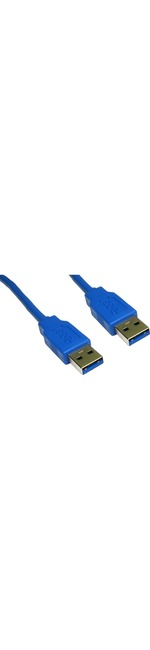 3m USB 3.0 Cable - Type A Male to Type A Male, Blue