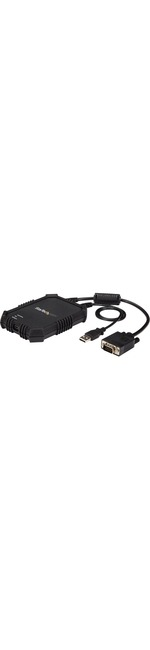 StarTech.com Laptop to Server KVM Console - Rugged USB Crash Cart Adapter, File Transfer Andamp; Video Capture