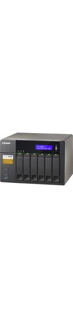 QNAP Turbo NAS TS-653A 6 x Total Bays NAS Server - Desktop - Intel Celeron N3150 Quad-core 4 Core 1.60 GHz - 8 GB RAM DDR3L SDRAM - Serial ATA/600 - RAID Supported