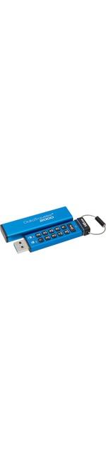 Kingston DataTraveler 2000 16 GB USB 3.1 Flash Drive - Blue - 256-bit AES