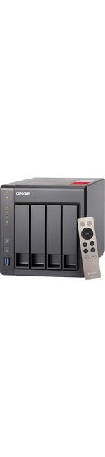 QNAP Turbo NAS TS-451plus 4 x Total Bays SAN/NAS Storage System - Tower - Intel Celeron Quad-core