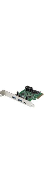 StarTech.com USB 3.1 PCIe Card - 5 Port - USB 3.1 Gen 2 10Gbps - 1x USB-C, 2x USB-A plus 1x 2 Port IDC 5Gbps