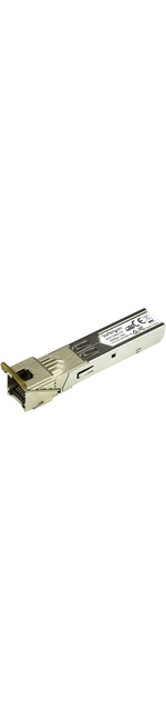 StarTech.com HP 453154-B21 Compatible SFP Module - TAA - 1000BASE-T Copper SFP Transceiver - Lifetime Warranty - 1 Gbps - Maximum Transfer Distance: 100 m 328 ft -