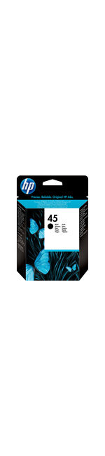 HP No. 45 Ink Cartridge - Black