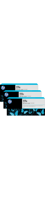 HP 771C Ink Cartridge - Light Cyan - Triple Pack