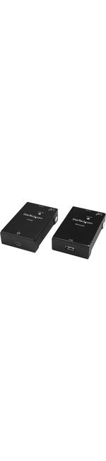 StarTech.com 1 Port USB 2.0 Over Cat5 or Cat6 Extender Kit - 50m 165 ft. - USB Extender - USB to Ethernet Extender - Network RJ-45