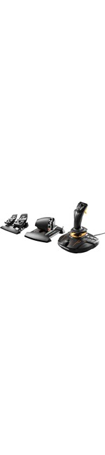 Thrustmaster T.16000M FCS Gaming Joystick, Gaming Throttle, Gaming Pedal - Cable - USB - PC - Black