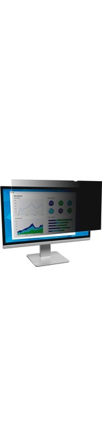 3M Black, Matte Privacy Screen Filter for 19And#34; Monitor