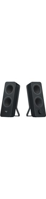 Logitech Z207 Speaker System - 5 W RMS - Wireless Speakers - Desktop - Black - Bluetooth - Wireless Audio Stream, Passive Radiator