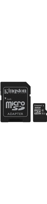 Kingston Canvas Select 32 GB microSDHC - Class 10/UHS-I U1 - 80 MB/s Read - 10 MB/s Write