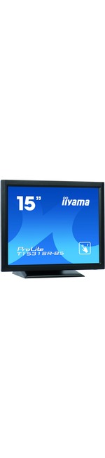 iiyama ProLite T1531SR-B5 38.1 cm 15And#34; LCD Touchscreen Monitor - 4:3 - 8 ms - 5-wire Resistive - 1024 x 768 - XGA - 700:1 - 370 cd/mAndamp;#178; - LED Backlight - Speaker