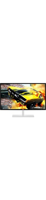 AOC Q3279VWFD8 31.5And#34; WQHD LED Gaming LCD Monitor - Silver, White