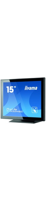 iiyama ProLite T1532MSC-B5X 38.1 cm 15And#34; LCD Touchscreen Monitor - 4:3 - 8 ms BTW Black to White - Projected Capacitive - Multi-touch Screen - 1024 x 768 - XGA -