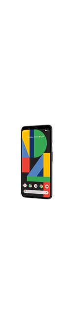 Google Pixel 4 XL 128 GB Smartphone - 16 cm 6.3And#34; QHDplus - 6 GB RAM - Android 10 - 4G - Just Black
