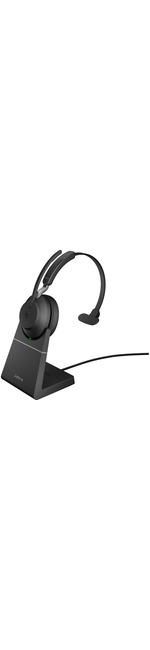 Jabra Evolve2 65 Wireless Over-the-head Mono Headset - Black - Supra-aural - Bluetooth