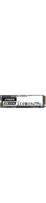 Kingston KC2500 500 GB Solid State Drive - M.2 2280 Internal - PCI Express NVMe PCI Express NVMe 3.0 x4 - Desktop PC, Workstation Device Supported - 300 TB TBW - 3