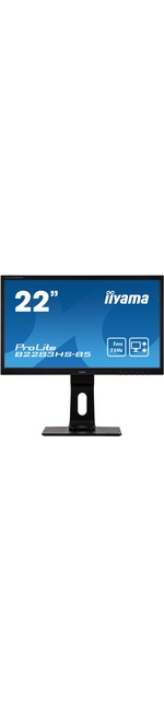 iiyama ProLite B2283HS-B5 21.5And#34; Full HD LED LCD Monitor - 16:9 - Matte Black