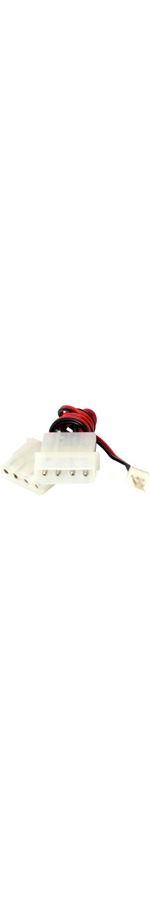 StarTech.com Fan Adapter - TX3 to 2X LP4 Power Y splitter Cable - 4 pin internal power M