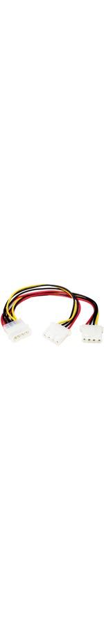 StarTech.com LP4 to 2x LP4 Power Y Splitter Cable M/F