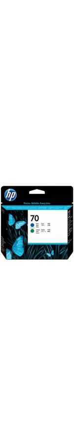 HP 70 Blue and Green Printhead