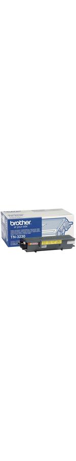 Brother TN-3230 Toner Cartridge - Black - Laser - 3000 Page - 1 Pack