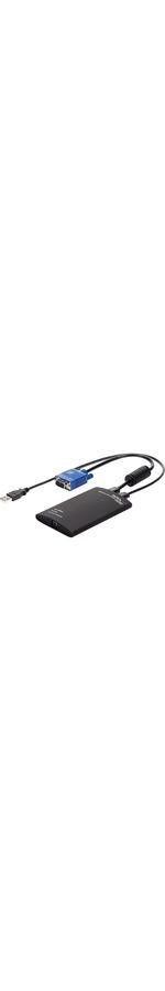 StarTech.com KVM Console to USB 2.0 Portable Laptop Crash Cart Adapter - 1 x Type A Female USB - 1 x Type A Male USB