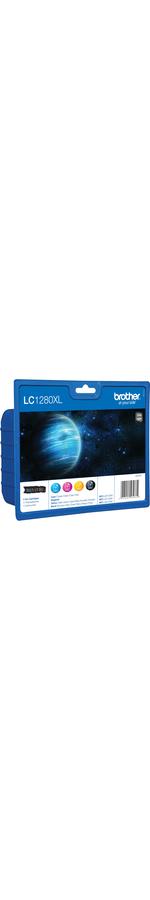 Brother LC1280XLVALBP Ink Cartridge - Cyan, Magenta, Yellow, Black