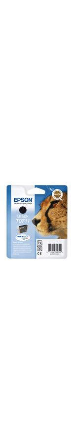 Epson DURABrite Ultra T0711 Ink Cartridge - Black