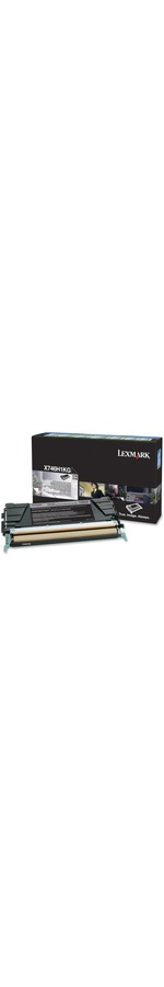 Lexmark X746H1KG Black High Capacity Toner Cartridge