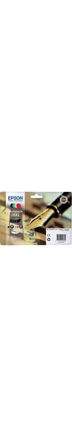 Epson DURABrite Ultra 16XL Ink Cartridge - Inkjet - 500 Page Black, 450 Page Cyan, 450 Page Magenta