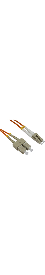 5m Cables Direct Fibre Optic Network Cable OM2 LC - SC