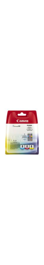 Canon CLI-8 Ink Cartridge - Cyan, Magenta, Yellow