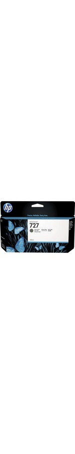 HP 727 Matte Black Ink Cartridge - 130mL