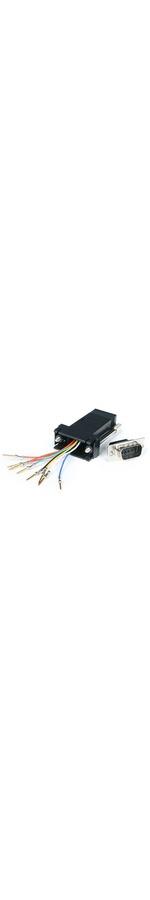 StarTech.com DB9 to RJ45 Modular Adapter - M/F - Serial adapter - DB-9 M - RJ-45 F