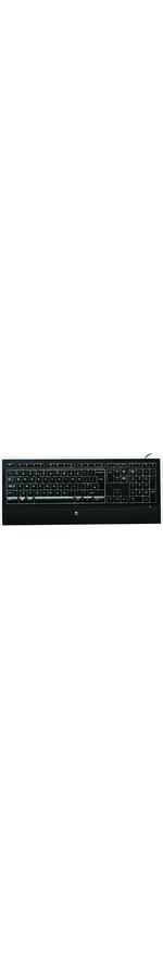 Logitech K740 Illuminated Keyboard Classic Black, USB