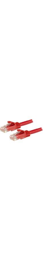 StarTech.com 5m Red Gigabit Snagless RJ45 UTP Cat6 Patch Cable - 1 x RJ-45 Male Network